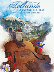 Official 2011 Telluride Bluegrass artwork