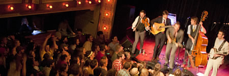 Punch Brothers at the Sheridan Opera House (photo: Benko Photographics)