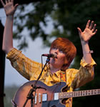Brett Dennen at 2009 Folks Festival (photo: Benko Photographics)