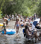 St. Vrain River inside the Folks Festival (photo: Benko Photographics)