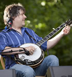 Bela Fleck at RockyGrass (photo: Benko Photographics)