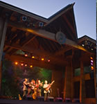 Del McCoury Band on the RockyGrass stage (photo: Benko Photographics)