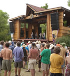 Festivarians on Planet Bluegrass (photo: Benko Photographics)