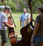 Bass students at the RockyGrass Academy (photo: Benko Photographics)