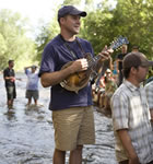 Pickin' in the St. Vrain River (photo: Benko Photographics)