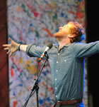 Glen Hansard at the 2008 Telluride Bluegrass (photo: Benko Photographics)
