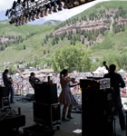 Cornmeal onstage at the 2011 Telluride Bluegrass (photo: Benko Photographics)