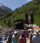 Main stage at Telluride Bluegrass (photo: Benko Photographics)