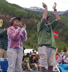 Telluride festivarians (photo: Benko Photographics)