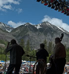 Tim O'Brien Band onstage at the 2011 Telluride Bluegrass (photo: Benko Photographics)