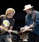 Sam Bush & Jerry Douglas at Telluride Bluegrass (photo: Benko Photographics)