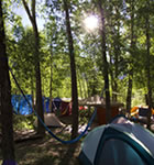Town Park campground during Telluride Bluegrass (photo: Benko Photographics)