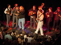 Punch Brothers & Friends at the Sheridan (photo: Benko Photographics)