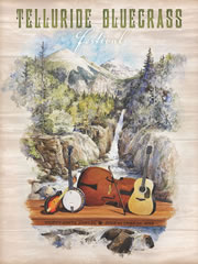2012 Telluride Bluegrass artwork