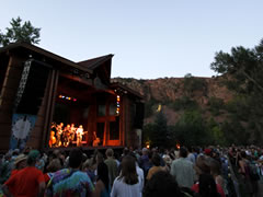 RockyGrass main stage at dusk (photo: Benko Photographics)