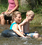 Tubing the St. Vrain River at Folks Fest (photo: Benko Photographics)