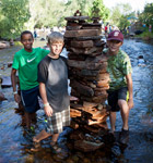 St. Vrain River thru the Folks Festival (photo: Benko Photographics)