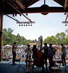 I Draw Slow on the RockyGrass stage (photo: Benko Photographics)