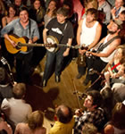 Mumford & Sons and many friends at the Sheridan Opera House (photo: Benko Photographics)