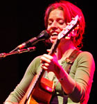 Ani DiFranco at the Folks Festival (photo: Benko Photographics)