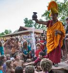 Mandala closing ceremony during the Folks Festival (photo: Benko Photographics)