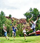 Kinfolk Celebration on Planet Bluegrass (photo: Dorothy St. Claire)