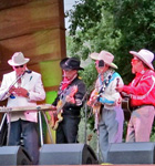 Red Knuckles & the Trailblazers at RockyGrass (photo: Christina Callicott)