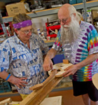 Instrument building experience at RockyGrass Academy (photo: Benko Photographics)