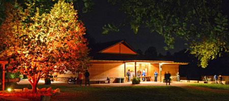 Wildflower Pavilion on Planet Bluegrass