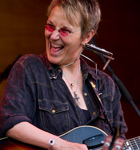 Mary Gauthier at Folks Fest (photo: Benko Photographics)