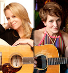 Mary Chapin Carpenter & Shawn Colvin play Folks Fest on Saturday, August 15