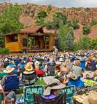 RockyGrass crowd at Planet Bluegrass (photo: Benko Photographics)
