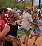 Festivarians at Planet Bluegrass (photo: Benko Photographics)