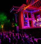 Night on the RockyGrass stage (photo: Benko Photographics)