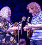 David Grisman & Sam Bush at the 2015 RockyGrass (photo: Benkno Photographics)