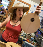 Instrument building class at RockyGrass Academy (photo: Benko Photographics)