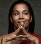 Rhiannon Giddens performs at the FirstGrass Concert in Mountain Village