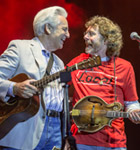 Del McCoury and Sam Bush (photo: Benko Photographics)
