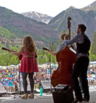 Front Country on the Telluride main stage (photo: Benko Photographics)