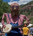 Kids parade at Telluride Bluegrass (photo: Benko Photographics)