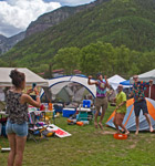 Telluride Bluegrass campers (photo: Benko Photographics)