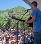 Elks Park stage in Telluride (photo: Benko Photographics)
