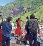 Rhiannon Giddens on the 2015 Telluride Bluegrass stage
