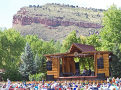 Folks Festival stage in Lyons (photo: Benko Photographics)