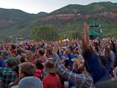 Festivarians at Telluride Bluegrass (Benko Photographics)
