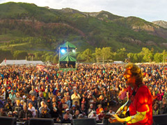 The King of Telluride, Sam Bush at the 2014 Festival  (photo: Benko Photographics)