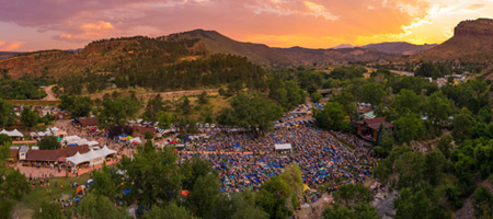 Aerial view of Planet Bluegrass (photo: Nate Luebbe)