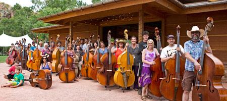 RockyGrass Academy bass classes (photo: Benko Photographics)