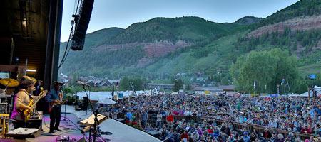 Bela Fleck & the Flecktones in Telluride (photo: Benko Photographics)