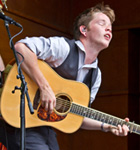Billy Strings at 2015 RockyGrass (photo: Benko Photographics)
